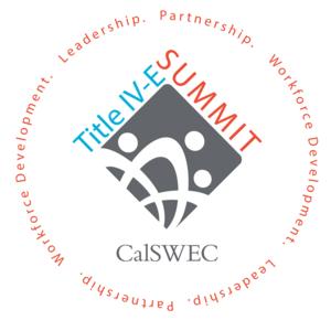 CalSWEC Title IV-E Summit Logo